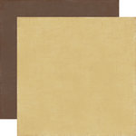 Echo Park - Note to Self Collection - 12 x 12 Double Sided Paper - Tan