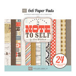 Echo Park - Note to Self Collection - 6 x 6 Paper Pad