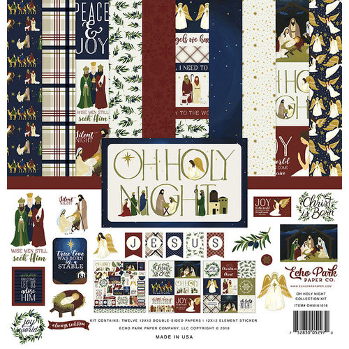 Echo Park - Oh Holy Night Collection - Christmas - 12 x 12 Collection Kit
