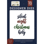 Echo Park - Oh Holy Night Collection - Christmas - Designer Dies - Silent Night, Holy Night