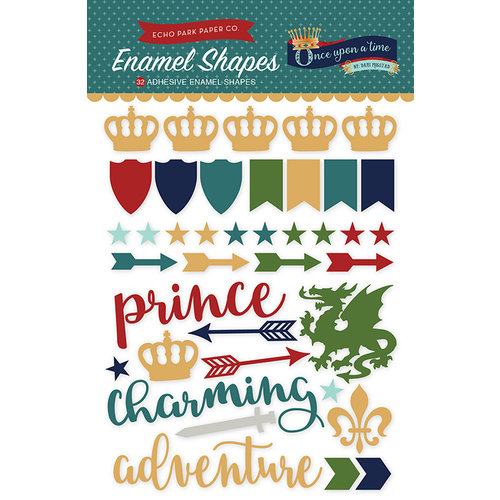 Echo Park - Once Upon A Time Collection - Prince - Enamel Shapes