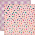 Echo Park - Once Upon A Time Collection - Princess - 12 x 12 Double Sided Paper - Kingdom Posies