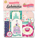 Echo Park - Once Upon A Time Collection - Princess - Ephemera - Frames and Tags
