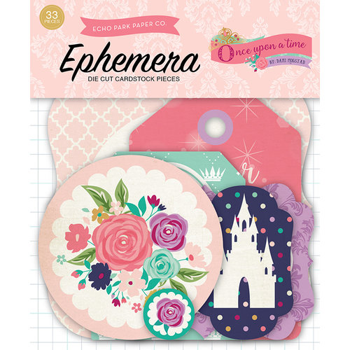 Echo Park - Once Upon A Time Collection - Princess - Ephemera
