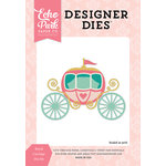 Echo Park - Once Upon A Time Collection - Princess - Designer Dies - Royal Carriage