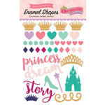 Echo Park - Once Upon A Time Collection - Princess - Enamel Shapes