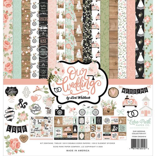 Echo Park - Our Wedding Collection - 12 x 12 Collection Kit