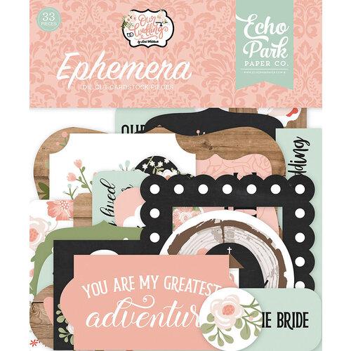 Echo Park - Our Wedding Collection - Ephemera