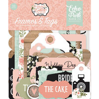 Echo Park - Our Wedding Collection - Ephemera - Frames and Tags