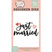 Echo Park - Our Wedding Collection - Designer Dies - Just Married Word Number 2