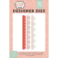 Echo Park - Our Wedding Collection - Designer Dies - Just Married Edges