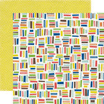 Echo Park - Paper and Glue Collection - 12 x 12 Double Sided Paper - Book Worm