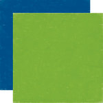Echo Park - Paper and Glue Collection - 12 x 12 Double Sided Paper - Green