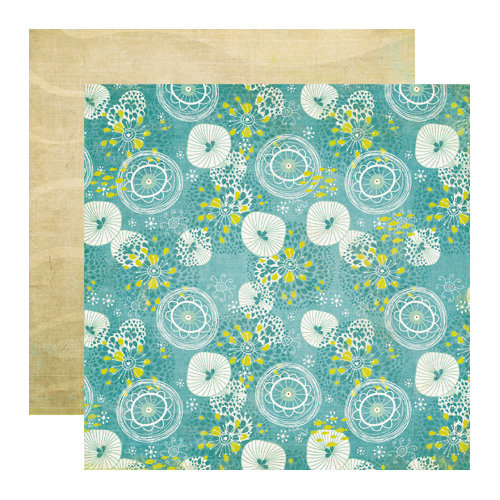 Echo Park - Paradise Beach Collection - 12 x 12 Double Sided Paper - Beachy