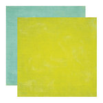 Echo Park - Paradise Beach Collection - 12 x 12 Double Sided Paper - Green