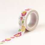 Echo Park - Petticoats and Pinstripes Collection - Girl - Decorative Tape - Floral
