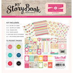 Echo Park - Petticoats and Pinstripes Collection - Girl - My StoryBook - Pocket Page Kit