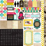 Echo Park - Birthday Wishes Collection - 12 x 12 Cardstock Stickers