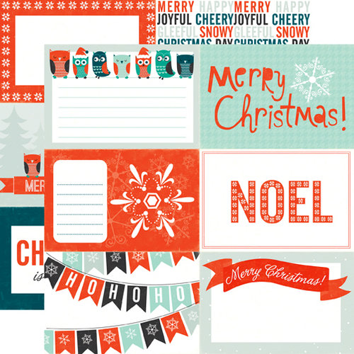 Echo Park - Dear Santa Collection - Christmas - 12 x 12 Double Sided Paper - Noel