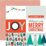 Echo Park - Dear Santa Collection - Christmas - 12 x 12 Double Sided Paper - Joy