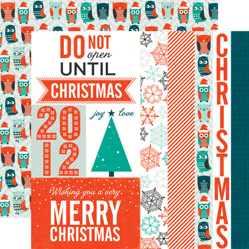 Echo Park - Dear Santa Collection - Christmas - 12 x 12 Double Sided Paper - Christmas