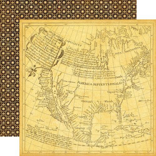 Echo Park - Graphic 45 - Transatlantique Collection - 12 x 12 Double Sided Paper - Abroad