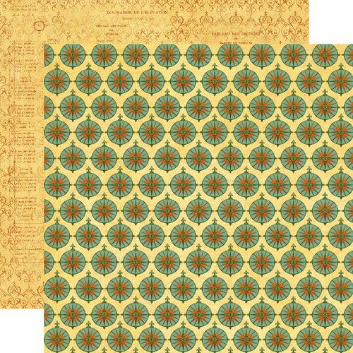 Echo Park - Graphic 45 - Transatlantique Collection - 12 x 12 Double Sided Paper - Here We Go