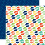 Echo Park - Happy Go Lucky Collection - 12 x 12 Double Sided Paper - Yeah