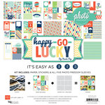 Echo Park - Happy Go Lucky Collection - 12 x 12 Collection Kit
