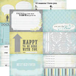 Echo Park - Happy Little Moments Collection - 12 x 12 Double Sided Paper - Document
