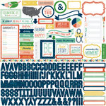 Echo Park - Photo Freedom Volume 2 Collection - 12 x 12 Cardstock Stickers - Elements