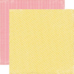 Echo Park - Photo Freedom Volume 1 Collection - 12 x 12 Double Sided Paper - Yellow