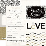 Echo Park - You and Me Collection - 12 x 12 Double Sided Paper - Happily Ever After