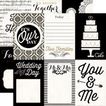 Echo Park - You and Me Collection - 12 x 12 Double Sided Paper - Wedding Day