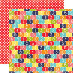 Echo Park - Playground Collection - 12 x 12 Double Sided Paper - Hopscotch