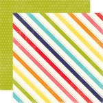 Echo Park - Playground Collection - 12 x 12 Double Sided Paper - Jump Rope