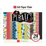 Echo Park - Pirates Life Collection - 6 x 6 Paper Pad