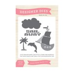 Echo Park - Pirates Life Collection - Designer Dies - Sail Away