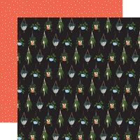 Echo Park - Plant Lady Collection - 12 x 12 Double Sided Paper - Hanging Plants