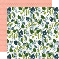 Echo Park - Plant Lady Collection - 12 x 12 Double Sided Paper - Leaves