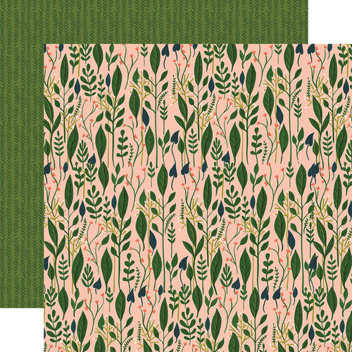 Echo Park - Plant Lady Collection - 12 x 12 Double Sided Paper - Garden Greenery