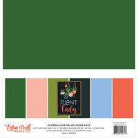 Echo Park - Plant Lady Collection - 12 x 12 Solids Paper Pack