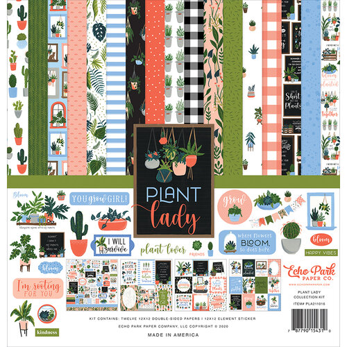 Echo Park - Plant Lady Collection - 12 x 12 Collection Kit