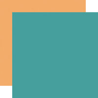 Echo Park - Pool Party Collection - 12 x 12 Double Sided Paper - Teal