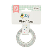 Echo Park - Pool Party Collection - Washi Tape - Pool Dot