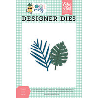 Echo Park - Pool Party Collection - Designer Dies - Tropical Leaves
