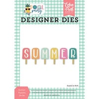 Echo Park - Pool Party Collection - Designer Dies - Summer Popsicles