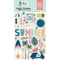 Echo Park - Pool Party Collection - Puffy Stickers