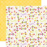 Echo Park - Perfect Princess Collection - 12 x 12 Double Sided Paper - Pixie Dust