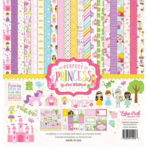 Echo Park - Perfect Princess Collection - 12 x 12 Collection Kit